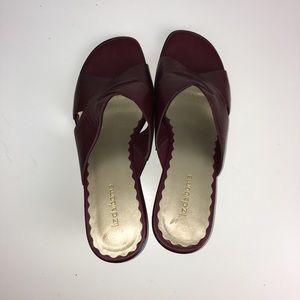 25f2cda63cb34 Liz Claiborne Shoes - Liz Claiborne Van ahoy 10 M Burgundy Leather New